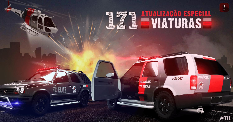 171 atualizações – Viaturas, armamento e novos veículos.